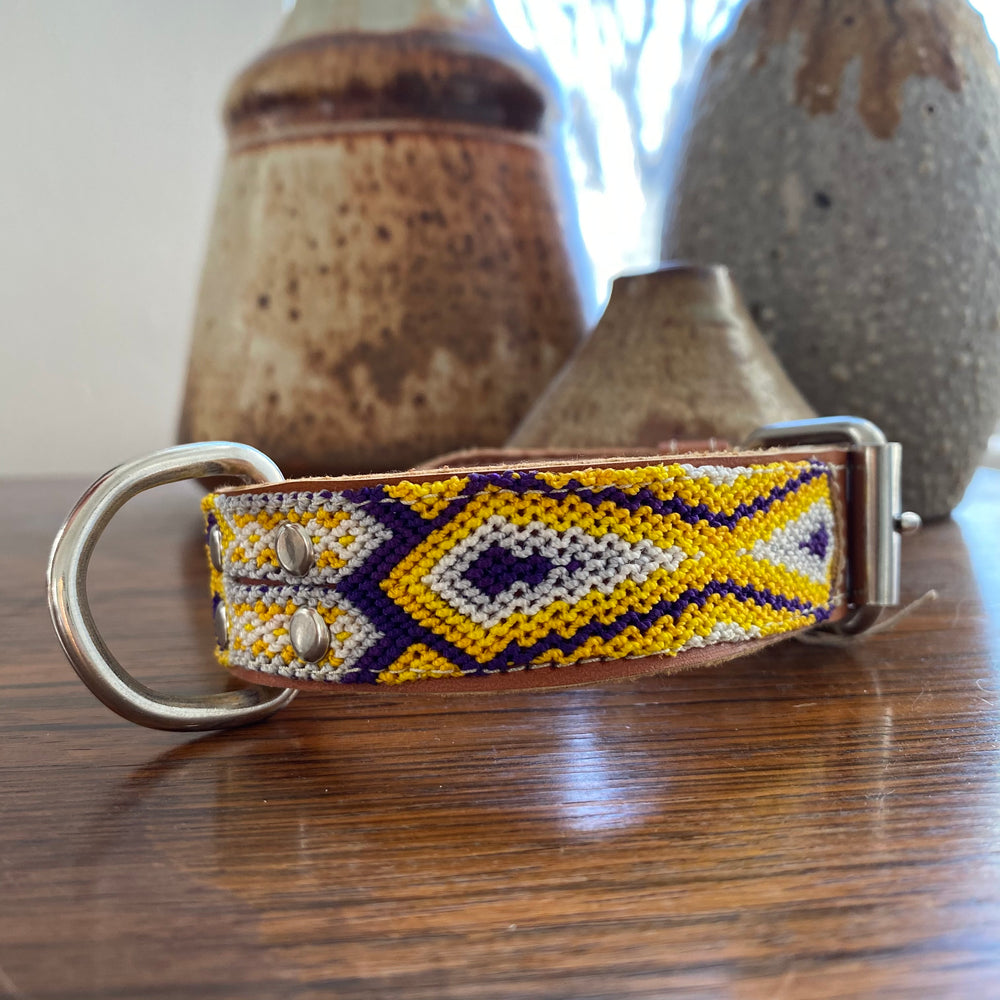 SMALL Pet Collar | Mexican Woven