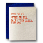 Love Card | Take off your clothes