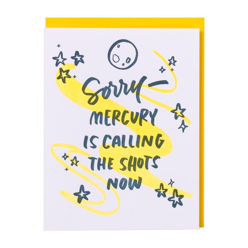 Encouragement Card | Mercury
