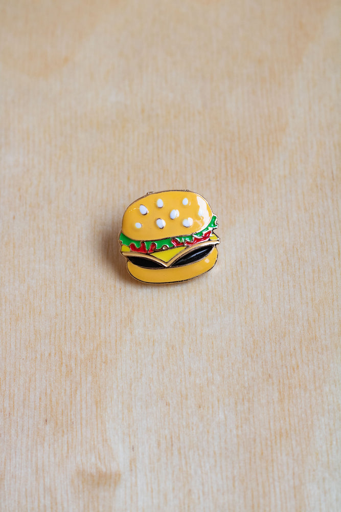 Enamel Pin | Hamburger