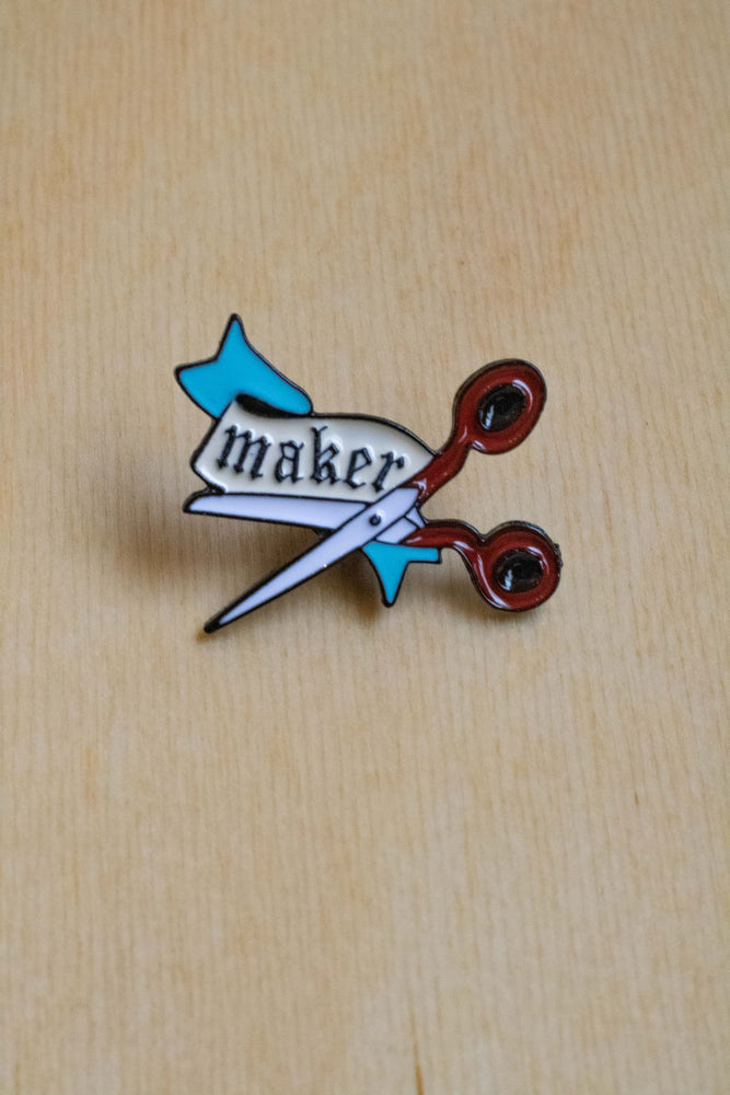 Enamel Pin | Maker