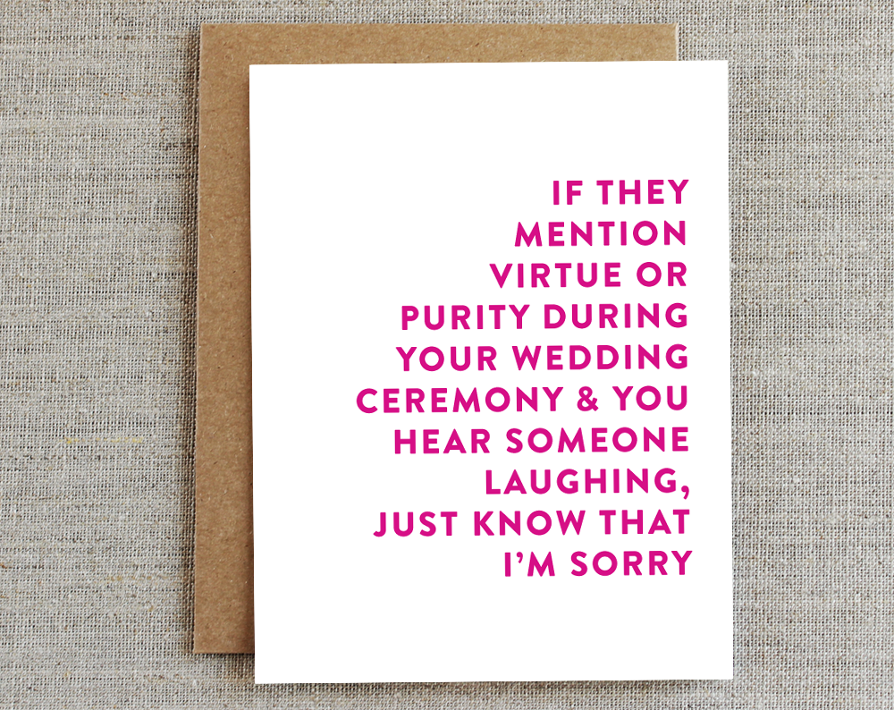 Engagement Card | Purity