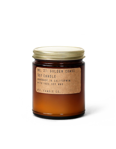 Candle, No. 21: Golden Coast - Soy Candle, P.F. Candle Co.  - Common People Shop