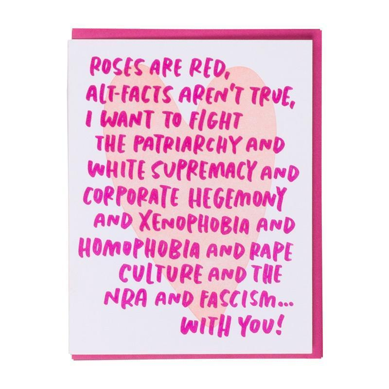 Love Card | Fight the Patriarchy