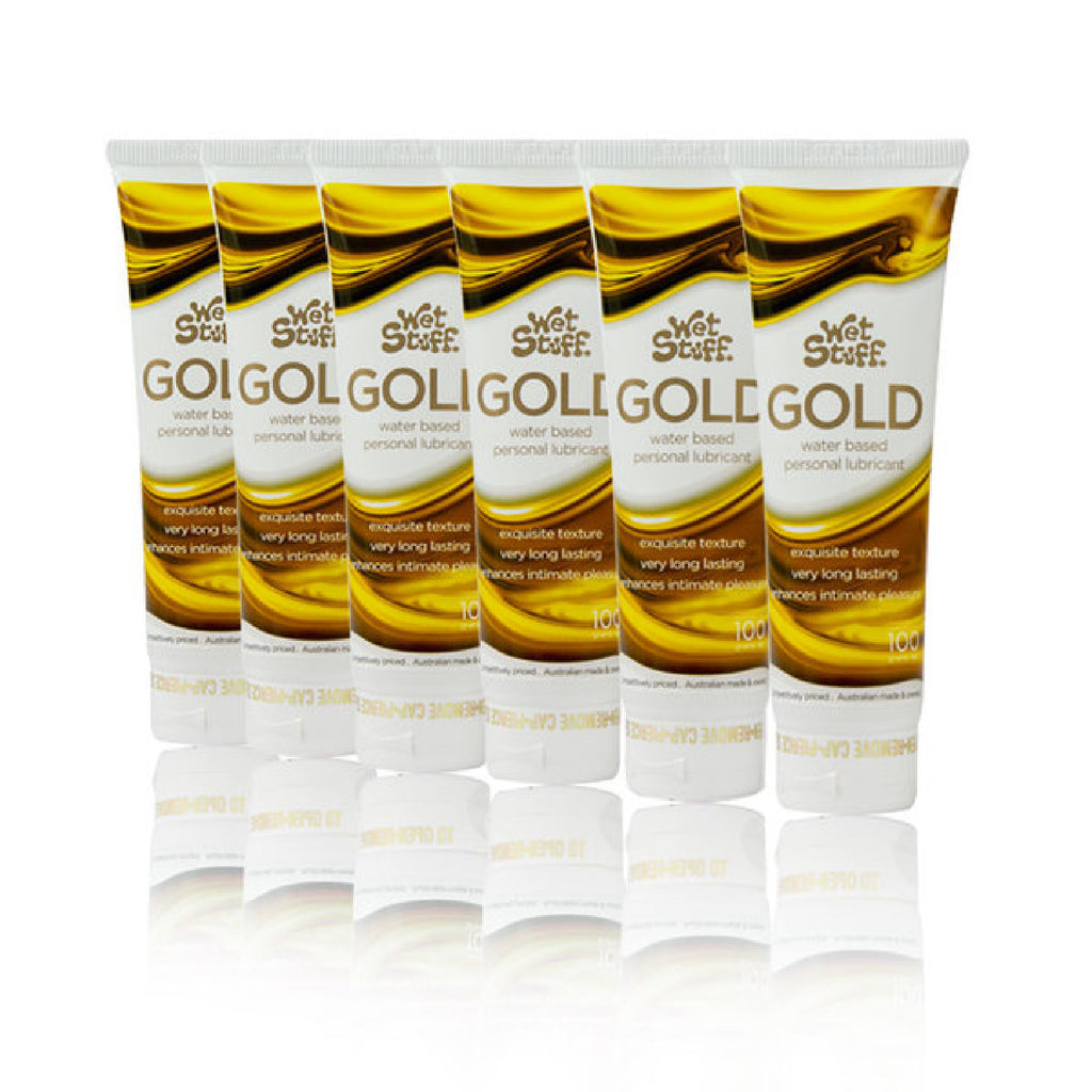 Wet Stuff Gold (6 X 100g Tube)