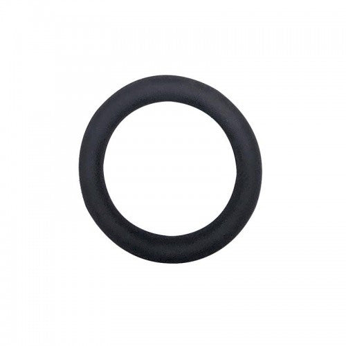 Slim Donut - Silicone Cock Ring - Black