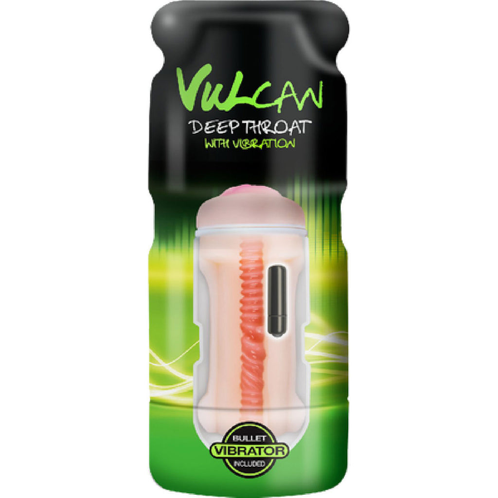 Vulcan Realistic Ass W/ Vibration (Cream)
