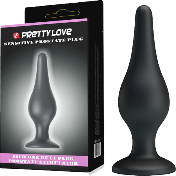 Sensitive Prostate Plug (Black)