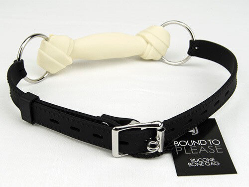 Bound to Please Silicone Dog Bone Gag