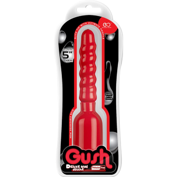Gush! Deluxe Anal Douche (Red)