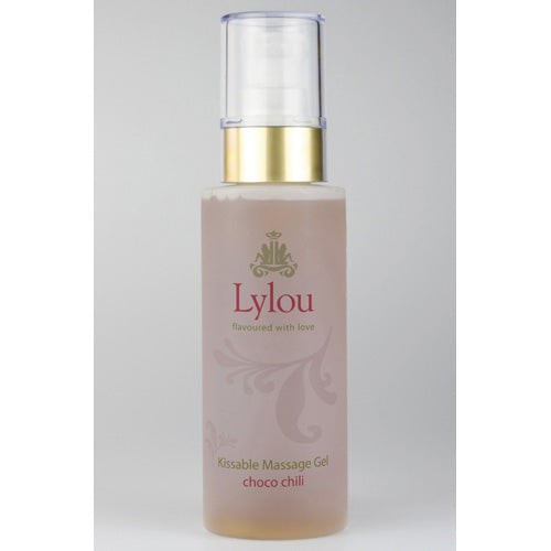 Lylou kissable massage gel choco chilli brown