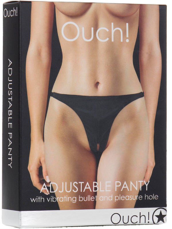 Adjustable Panty Black
