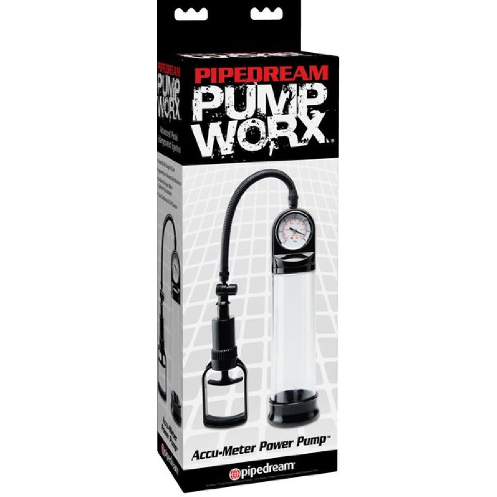Accu-Meter Power Pump (Clear/Black)