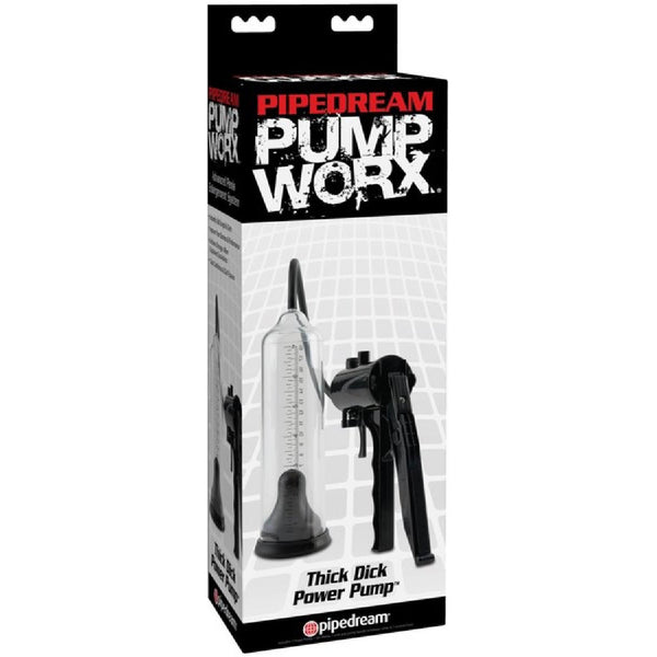 Thick Dick Power Pump (Clear/Black)