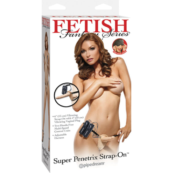Super Penetrix Strap-On (Flesh)
