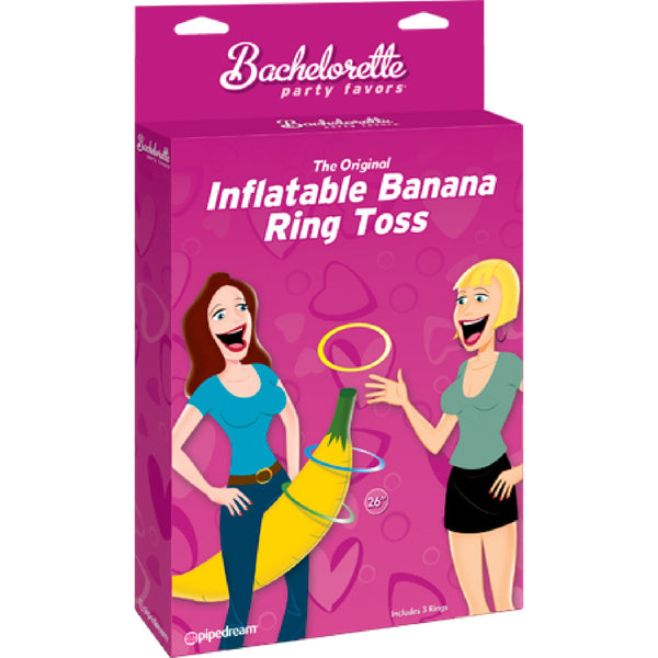 The Original Inflateable Banana Ring Toss