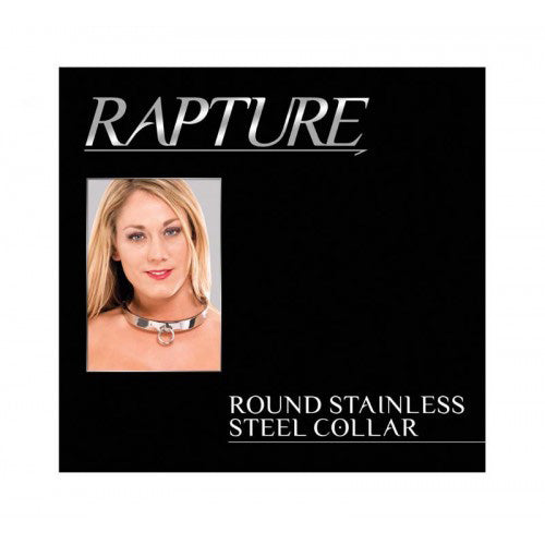 Rapture Heavy Polished Stainless Steel Collar