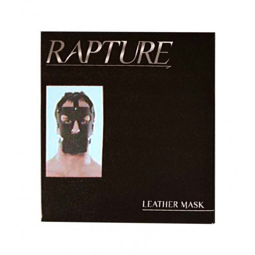 Rapture Leather Mask (Full Face with Triple Belt Clasps)