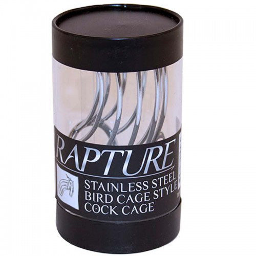Rapture Stainless Steel Bird Cage Cock Cage