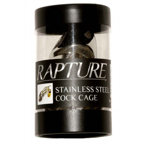 Rapture Stainless Steel Cock Cage