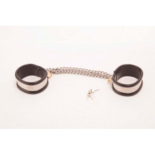 Rapture Steel Band Wrist Cuff Shackles Small