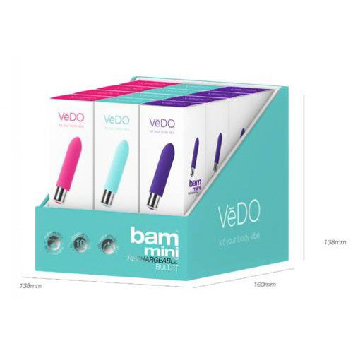 Vedo BAM Mini Counter Display