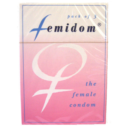 condoms & dams glyde femidom female condom pink