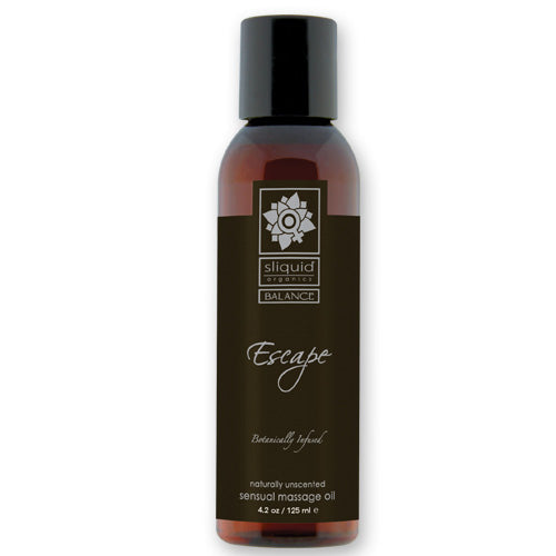 massage oils sliquid organic massage oil escape