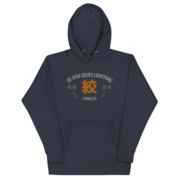 Jiu Jitsu Solves Everything Hoodie