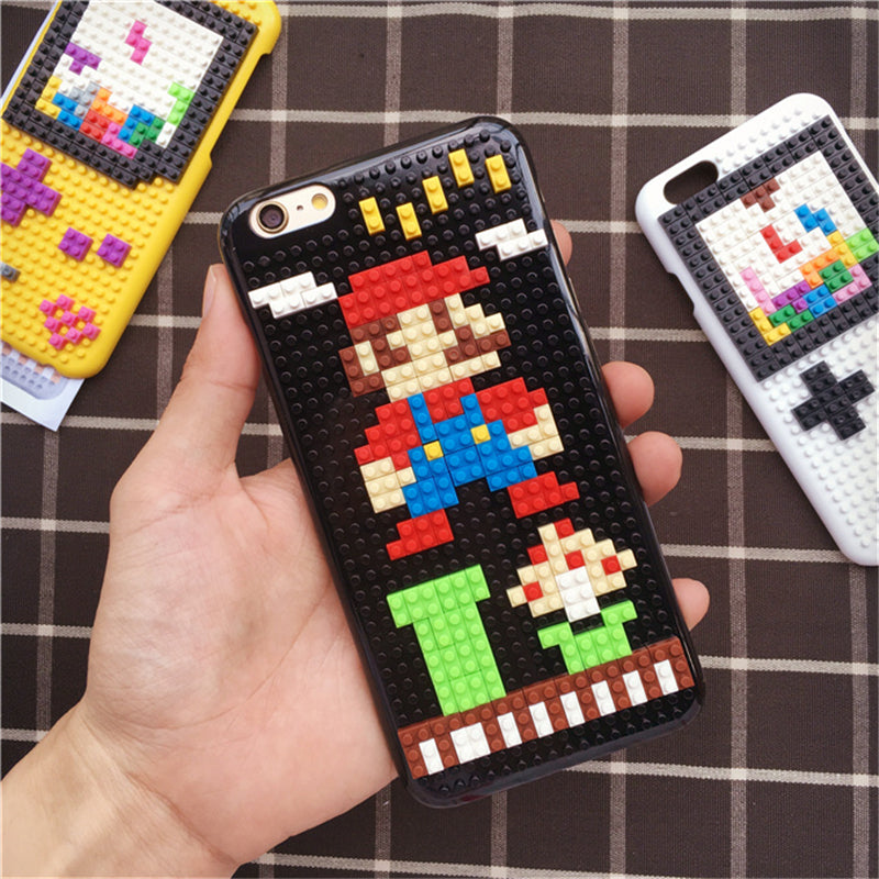 Legos Blocks Brick Case SuperMarios Minions GameBoy Pokemon Cover