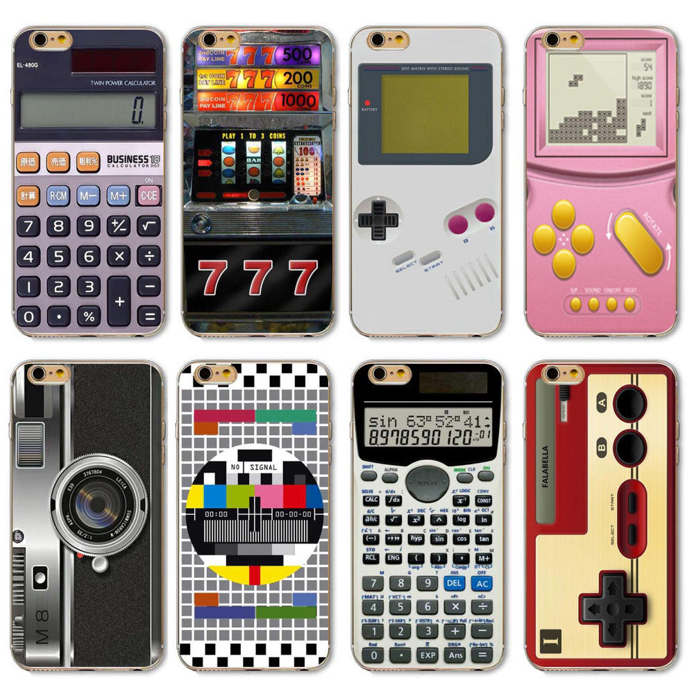 Fashion Gameboy Video tape Camera Styles Back Cases