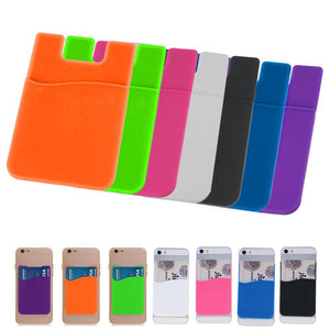 Cell Phone Wallet Case Credit ID Card Holder Pocket