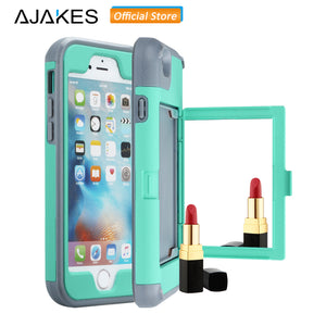 Shockproof Heavy Mirror Case