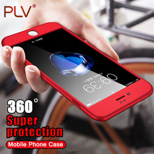 360 Degree Protection Case + Screen Protector Glass