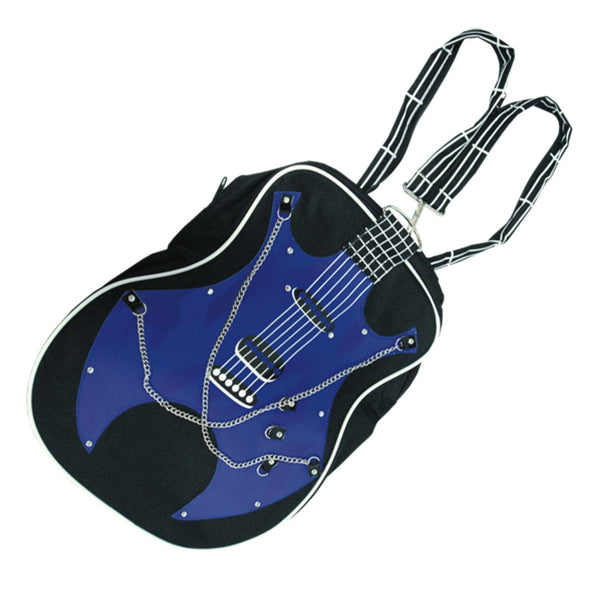 Big Band Guitar Shoulder Bag (Dark Blue)