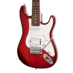 Casino ST-Style 3/4 Size Electric Guitar Set (Transparent Wine Red)