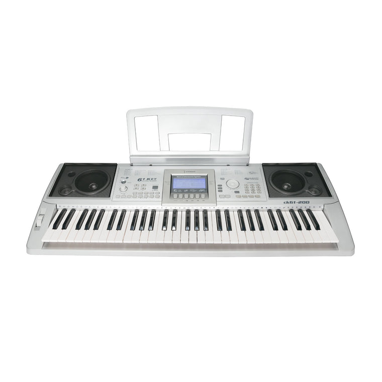 Crown 61 Note Portable Touch Responsive Electronic Keyboard