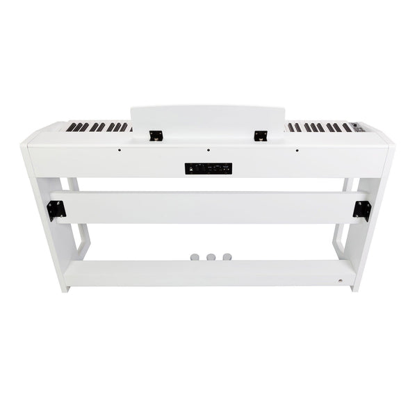 Crown 88-Key Hammer Action Compact Digital Piano (White)