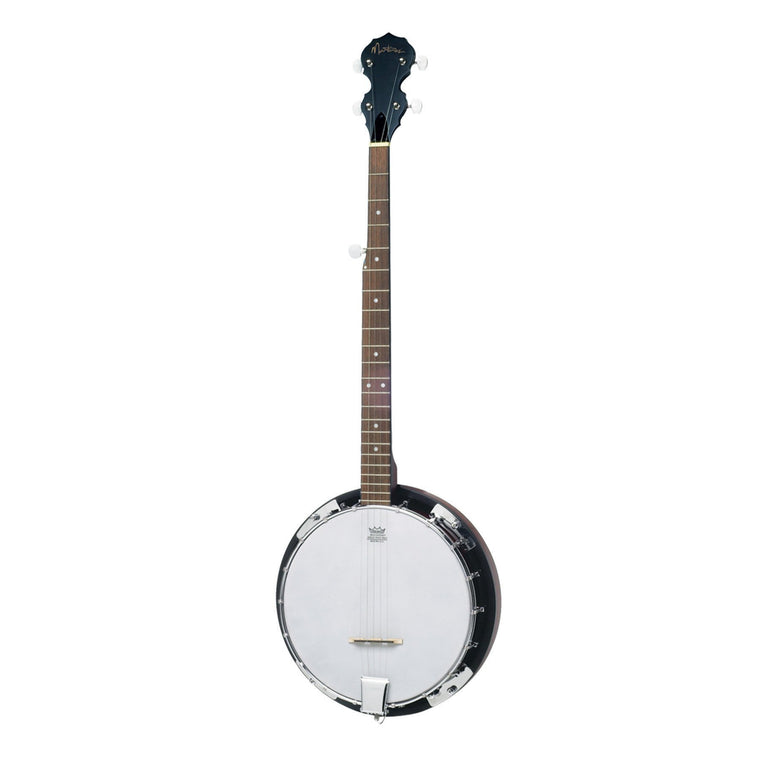 Martinez 5-String Left Handed Mahogany Banjo (Natural Satin)