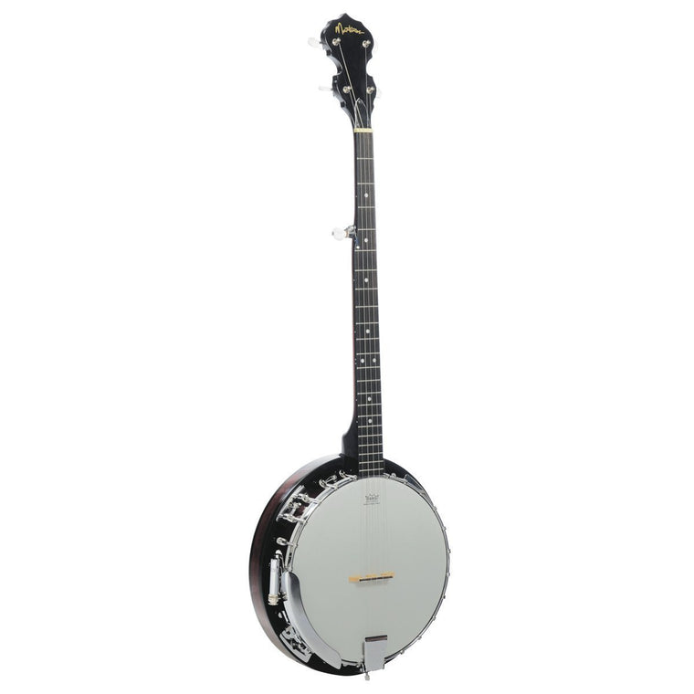 Martinez 5-String Mahogany Electric Banjo (Natural Gloss)