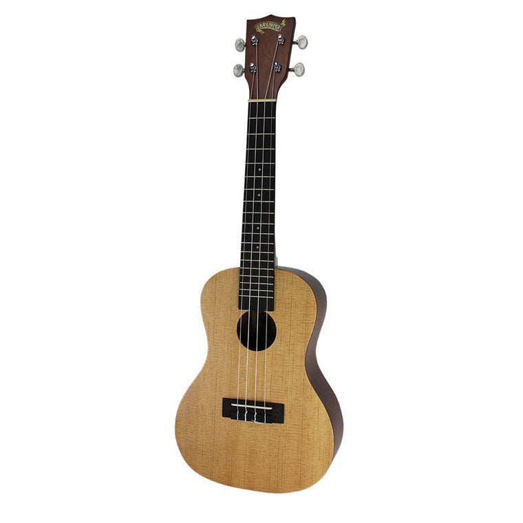 Mojo '50 Series' Spruce Solid Top Electric Concert Ukulele with Gig Bag (Natural Satin)