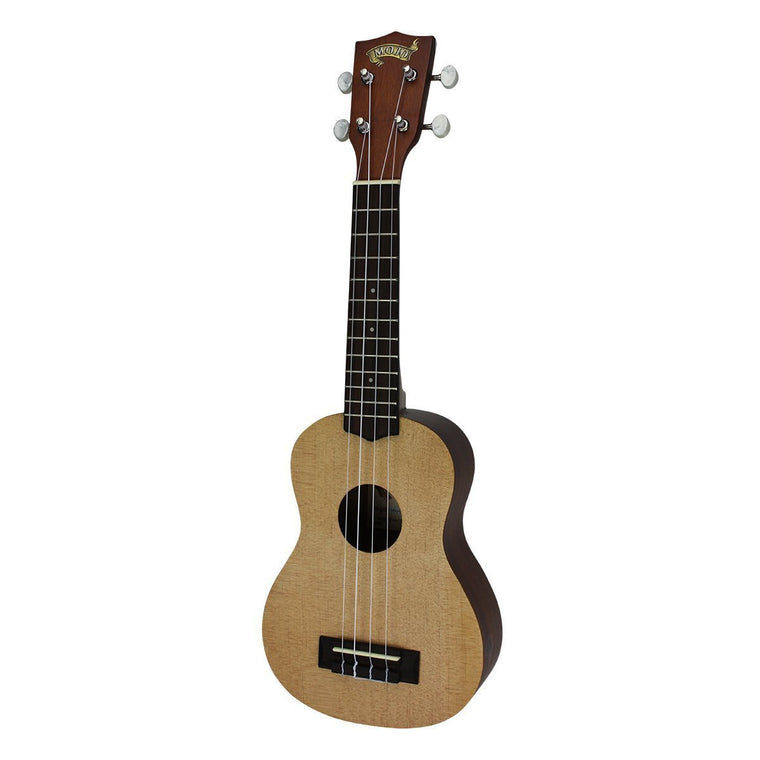 Mojo '50 Series' Spruce Solid Top Electric Soprano Ukulele with Gig Bag (Natural Satin)
