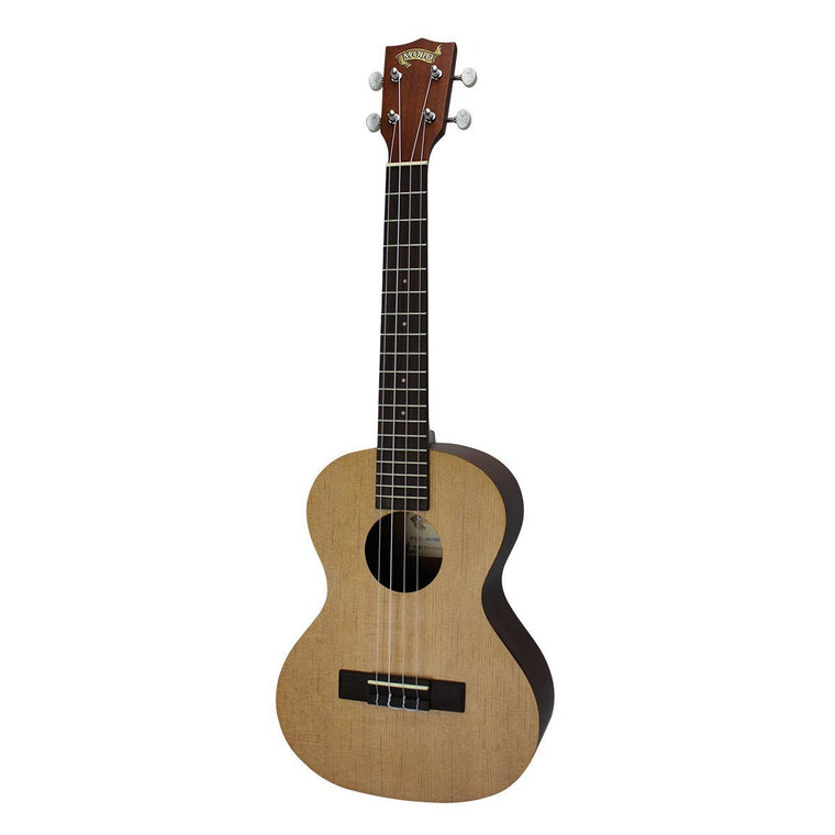 Mojo '50 Series' Spruce Solid Top Electric Tenor Ukulele with Gig Bag (Natural Satin)