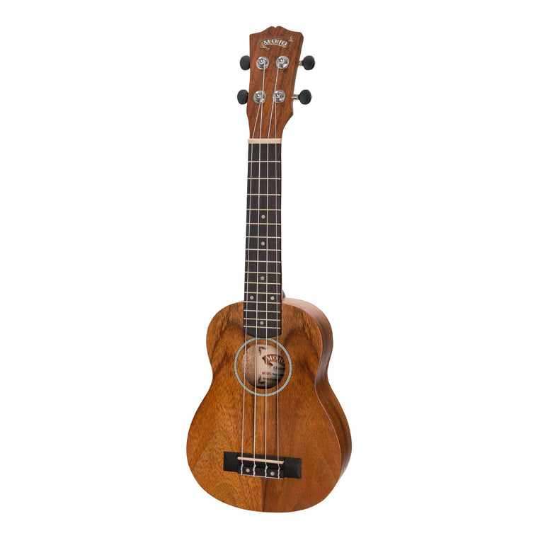 Mojo 'B80 Series' All Bubinga Soprano Ukulele (Natural Satin)