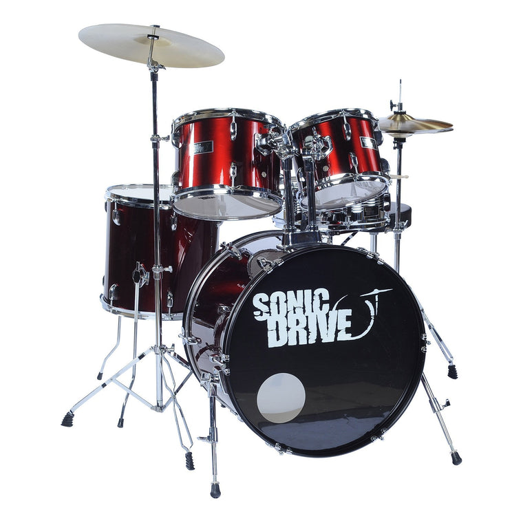 Sonic Drive 5-Piece Fusion Drum Kit with 22