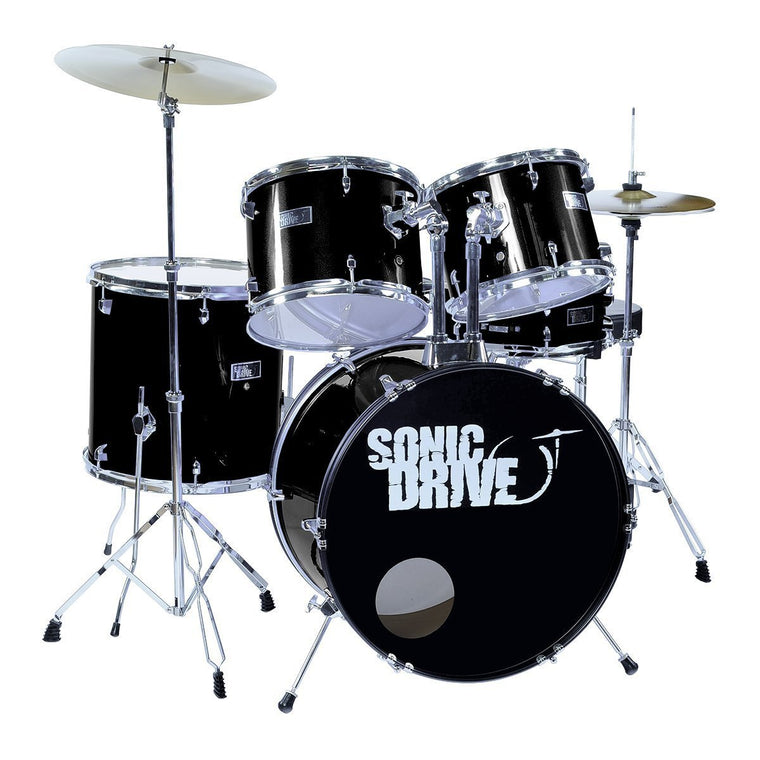 Sonic Drive 5-Piece Rock Drum Kit with 22