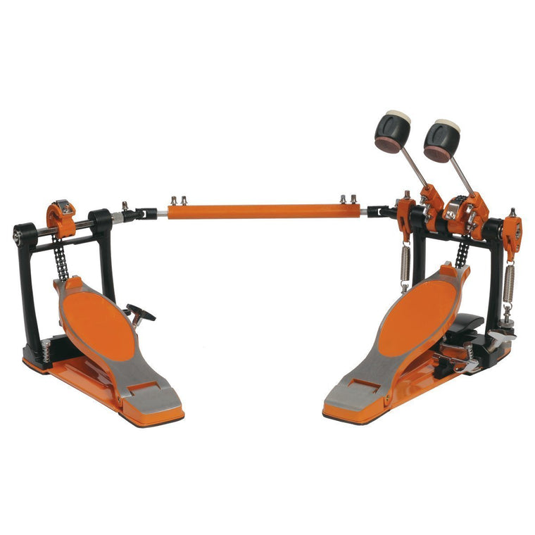 Sonic Drive Rock Double Bass Drum Pedal (Orange)