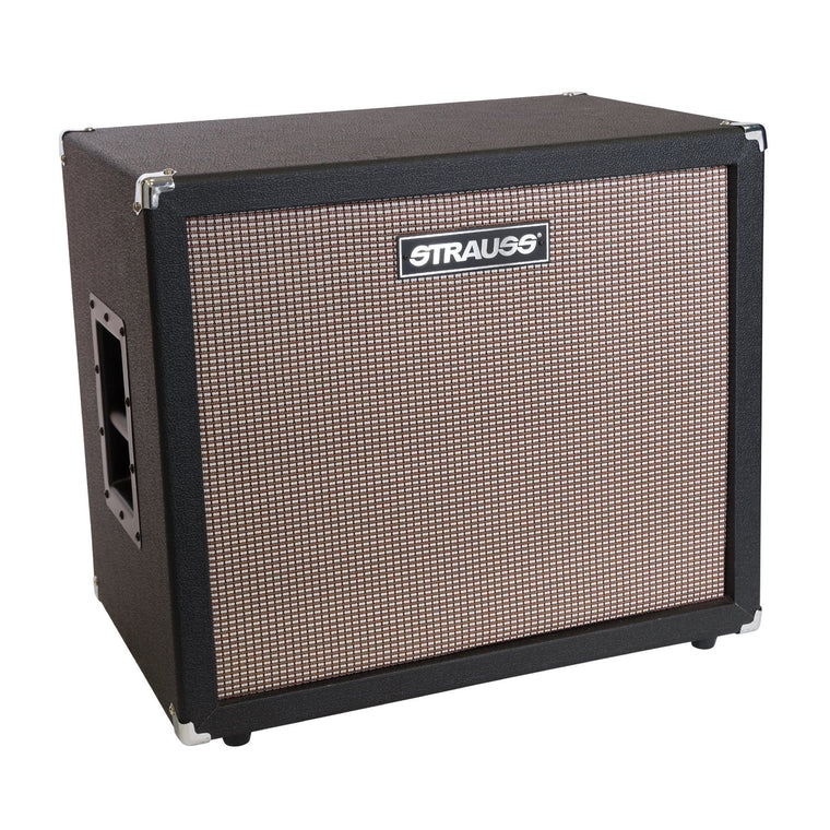 Strauss 1x15 200 Watt Bass Speaker Cabinet (Black)