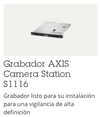 SERVER AXIS S1116 RACK GRABADOR CON 16 LICENCIAS 8TB INCLUIDOS