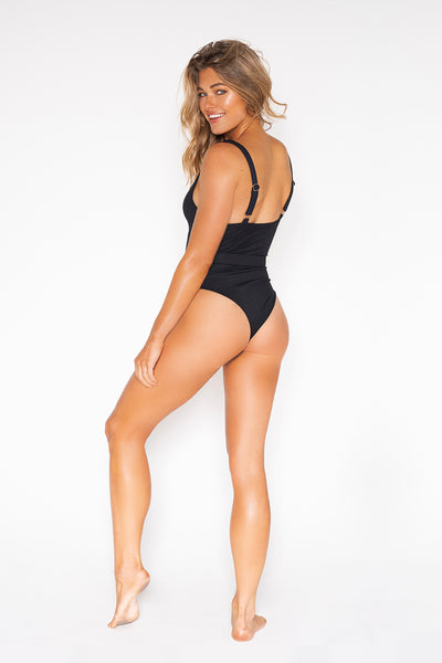Bombshell One Piece In Black